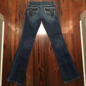 Rock 47 low rise boot cut jeans